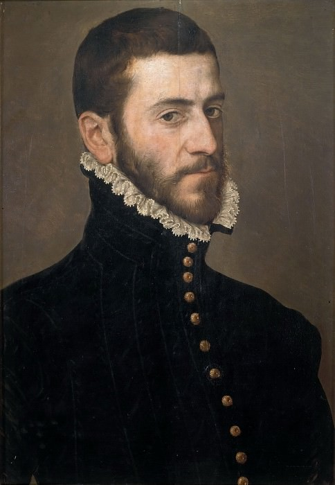 Portrait of a Gentleman (school). Giovanni Battista Moroni