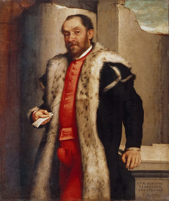 Portrait of Antonio Navagero. Giovanni Battista Moroni