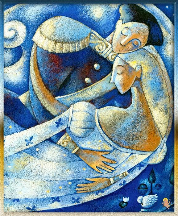 Prince Siegfried & Odette United in Life after Death. Alida Massari