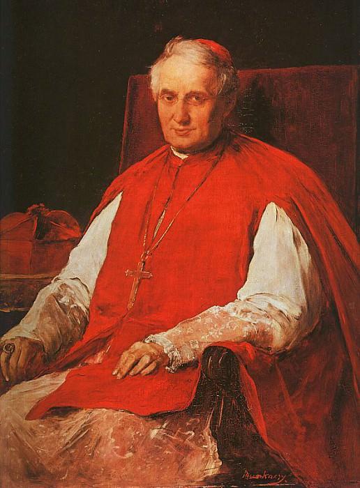Портрет кардинала Хайнальда, 1884. Михай Мункачи