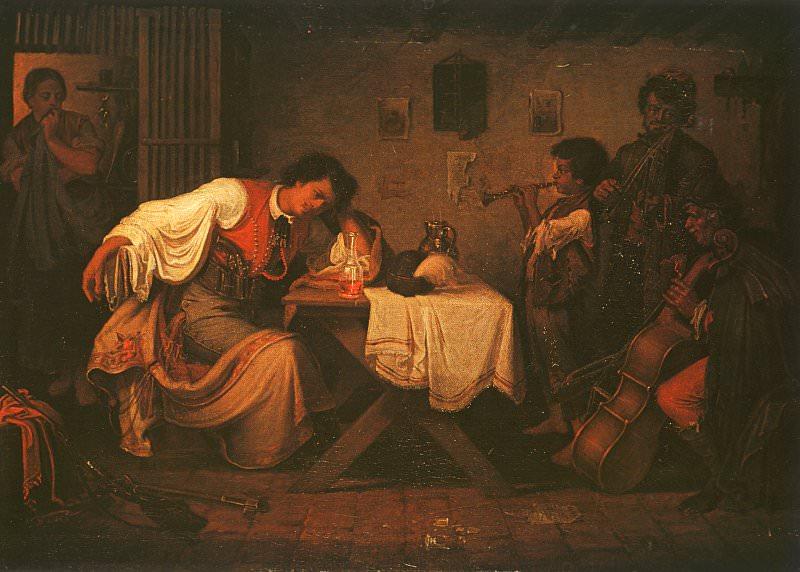 Горюющий бетьяр, 1865. Михай Мункачи