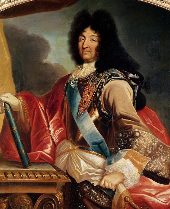 Portrait of Louis XIV (1638-1715). Pierre Mignard