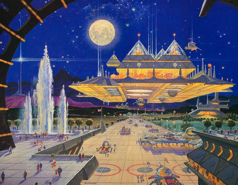Metropolis. Robert Mccall