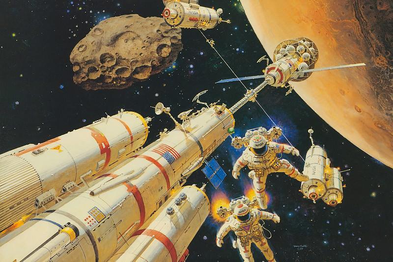 Mars Arrival. Robert Mccall