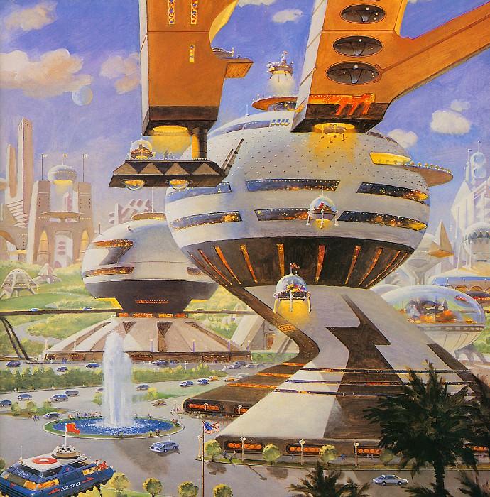 City Center. Robert Mccall