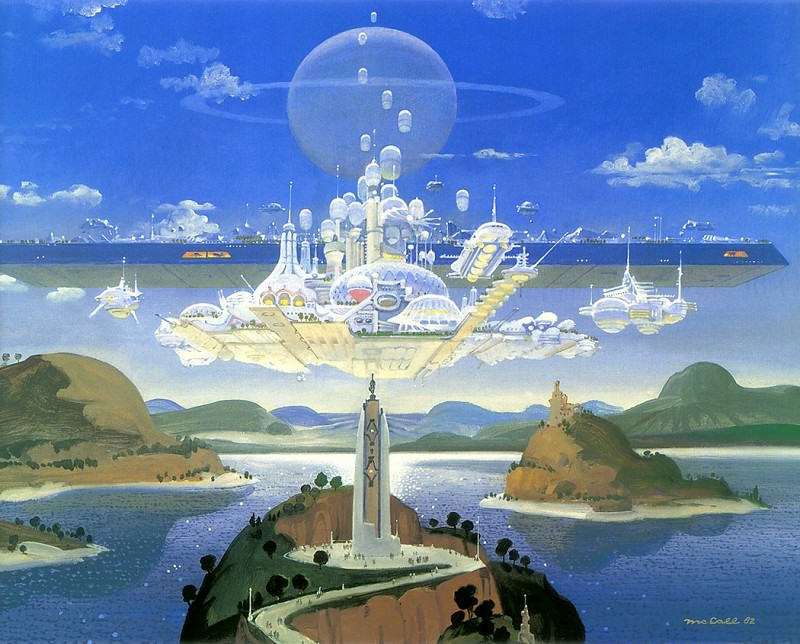 Island Shrine. Robert Mccall