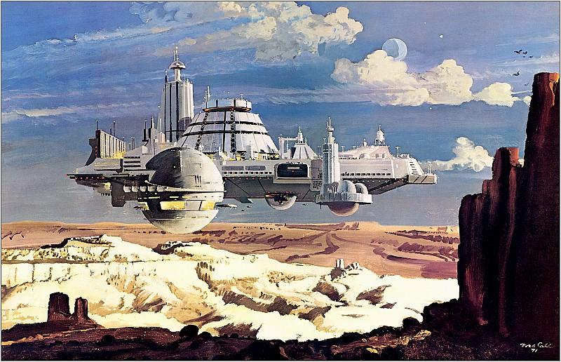 Floating Transportation Center. Robert Mccall