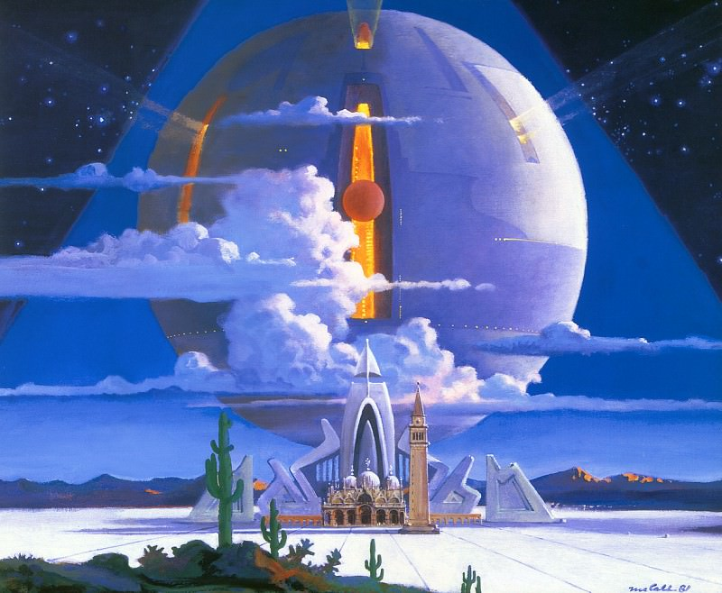 Homage to Canaletto. Robert Mccall