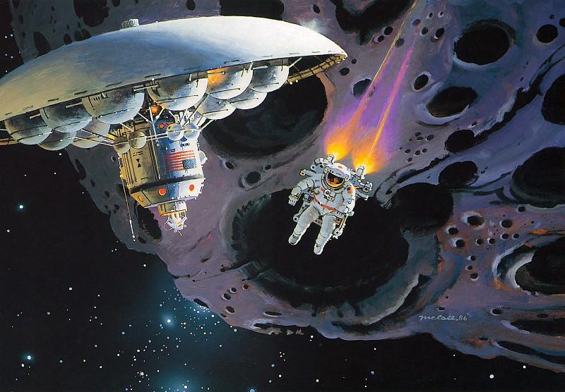 Exploring the Asteroids. Robert Mccall