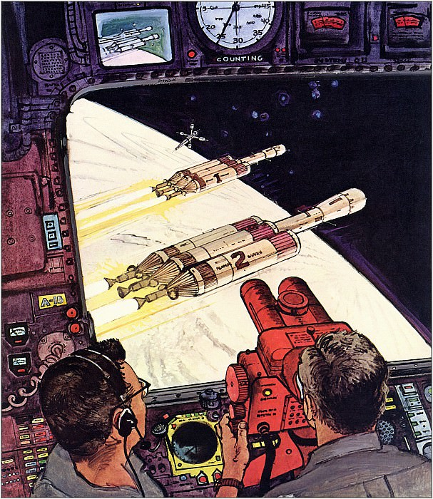 The First Manned Mission To Mars. Robert Mccall