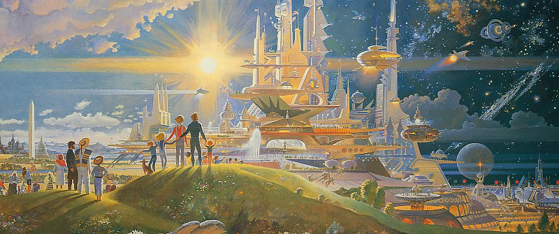 The Prologue and the Promise. Robert Mccall (detail)