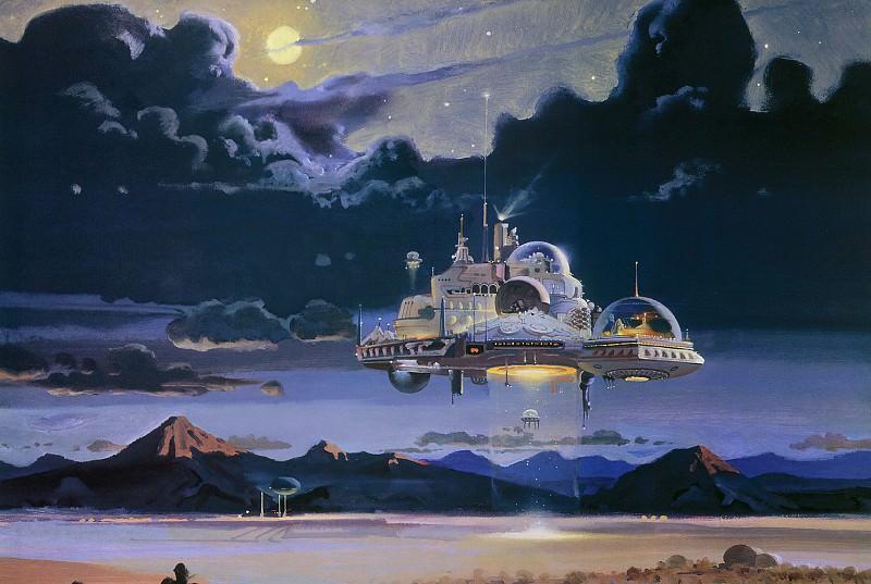 Desert Nocturne. Robert Mccall