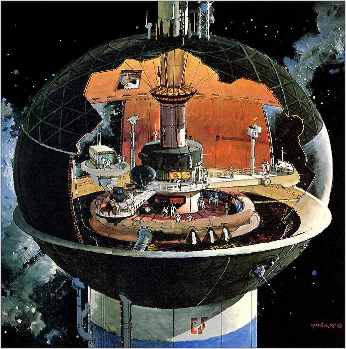 The Spherical Command Center. Robert Mccall