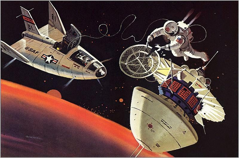 Repairman In Space. Robert Mccall