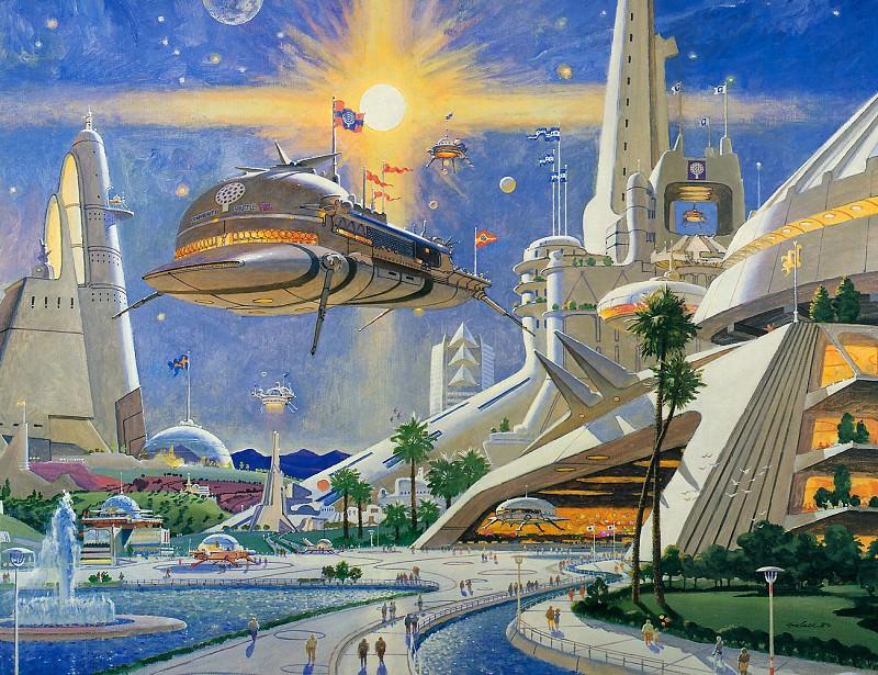 Metropolis 2050 #3. Robert Mccall