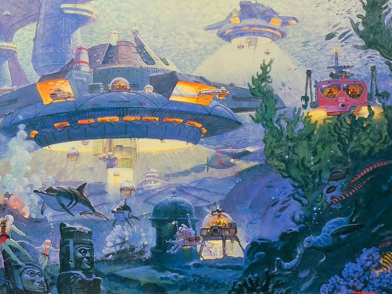 Undersea Horizons. Robert Mccall