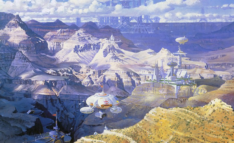 Grand Canyon from the South Rim. Robert Mccall