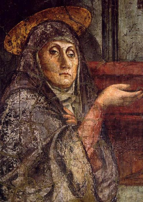 TRINITY,DETALJ 1, S.MARIA NOVELLA FIRENZE. Tommaso Masaccio