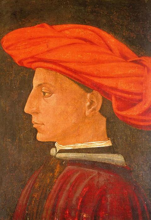 Portrait of a Young Man, 1423-25, wood, Isabella St. Tommaso Masaccio
