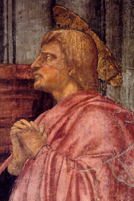 TRINITY,DETALJ 2, S.MARIA NOVELLA FIRENZE. Tommaso Masaccio