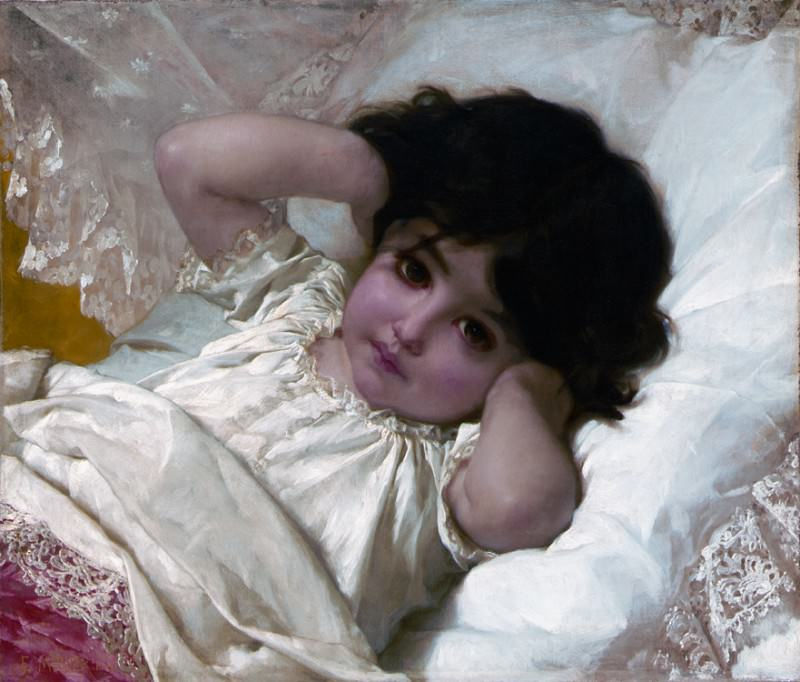 Портрет Мари-Луизы. Эмиль Мунье