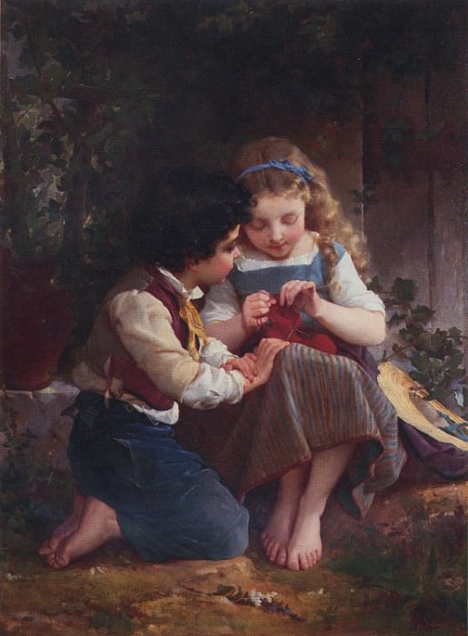 1874 1 a special moment. Emile Munier