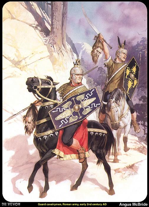 Римская армия. Ангус Макбрайд