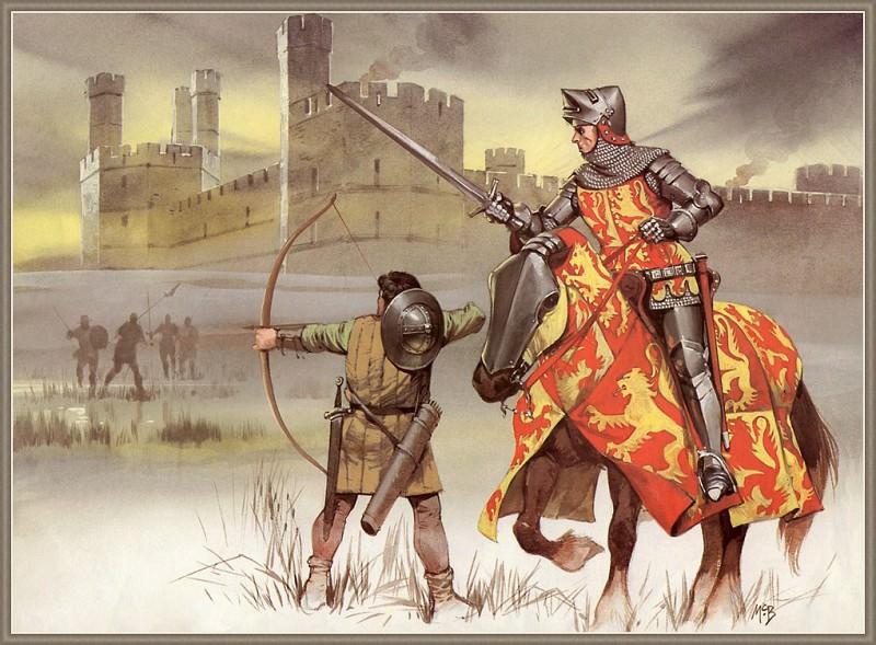 Celtic Warriors. Angus Mcbridge