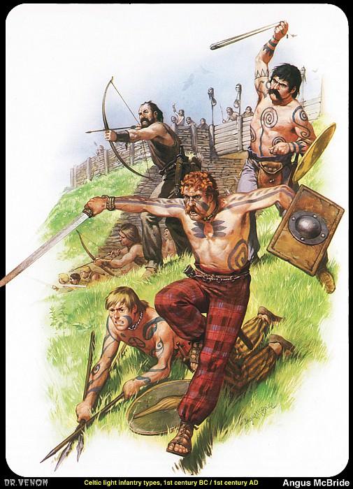 Кельтская армия. Ангус Макбрайд