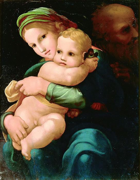 Holy Family. Pedro Machuca