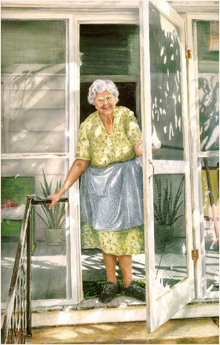 Aunt Kate. William Mangum
