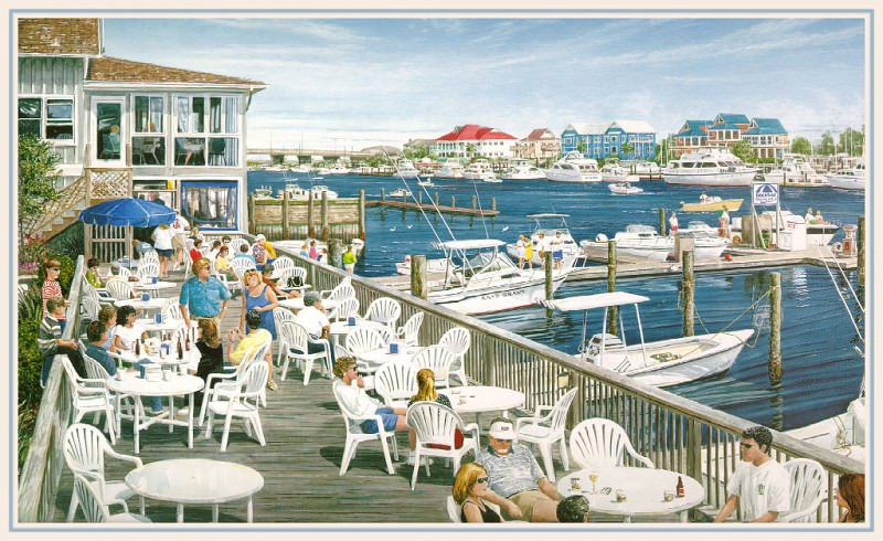 Dockside. William Mangum