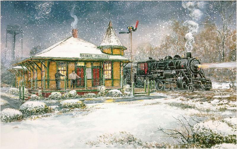 Станция Барбер. Уильям Магнум