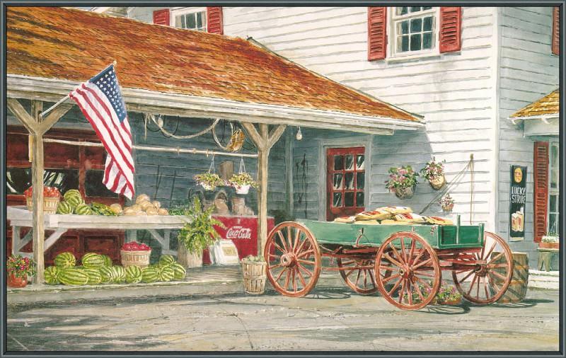 Summers Harvest. William Mangum