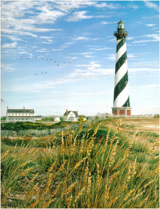 Cape Hatteras detail. William Mangum