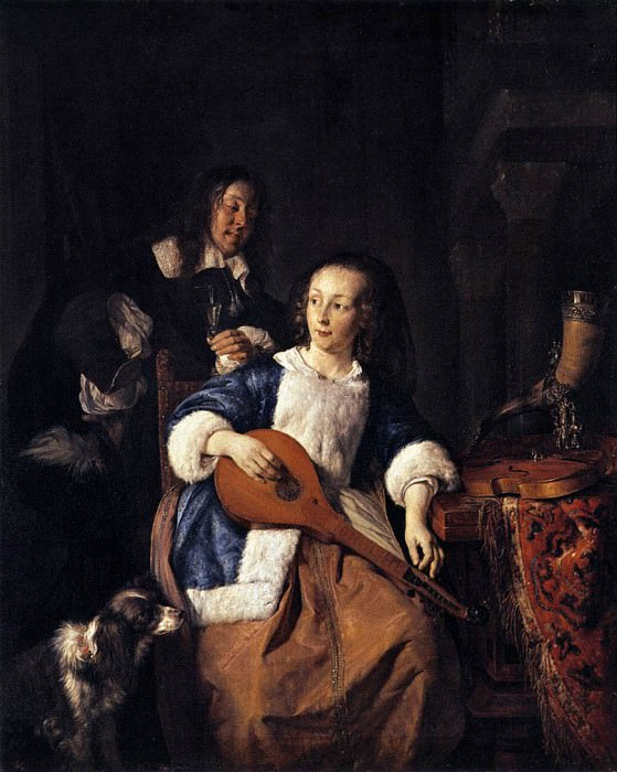 player. Gabriel Metsu