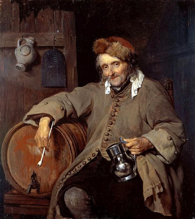 Старый пьяница. Габриель Метсю