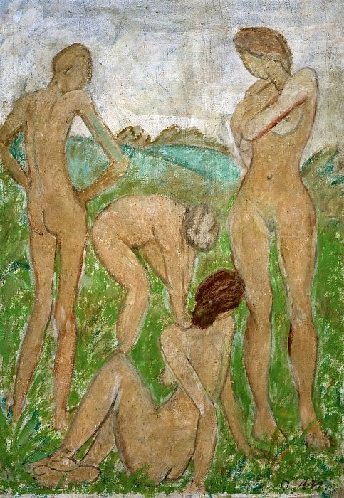 The Judgment of Paris. Otto Muller