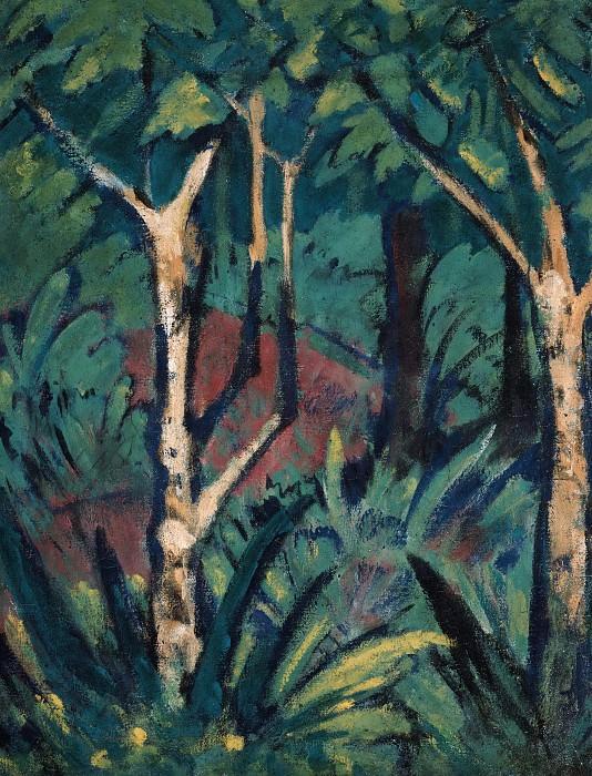 Forest landscape. Otto Muller