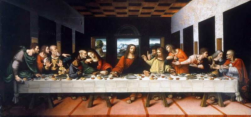 The Last Supper (Copy of Leonardo da Vinci). Cesare Magni
