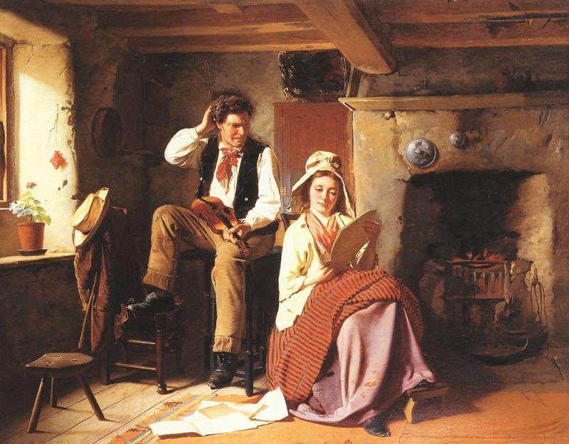 The Music Lesson. William Henry Midwood