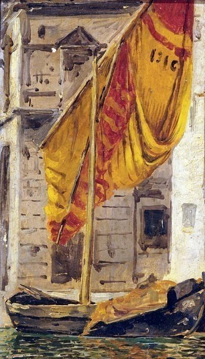 Вид на пирс Кьоджиа. Карло Манчини
