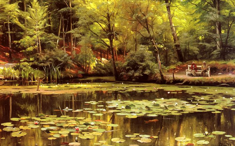 Waterlilies. Peder Mork Monsted