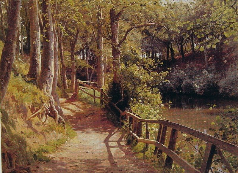 The Forest Path. Peder Mork Monsted