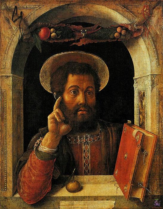 St.Mark (1448). Andrea Mantegna