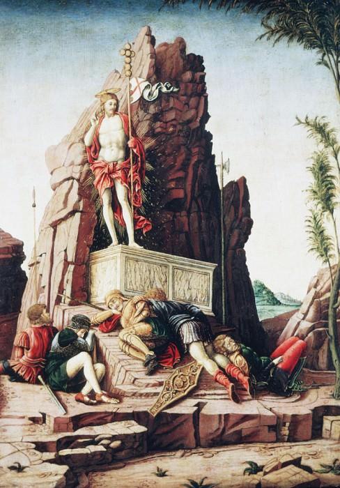 The Resurrection. Andrea Mantegna