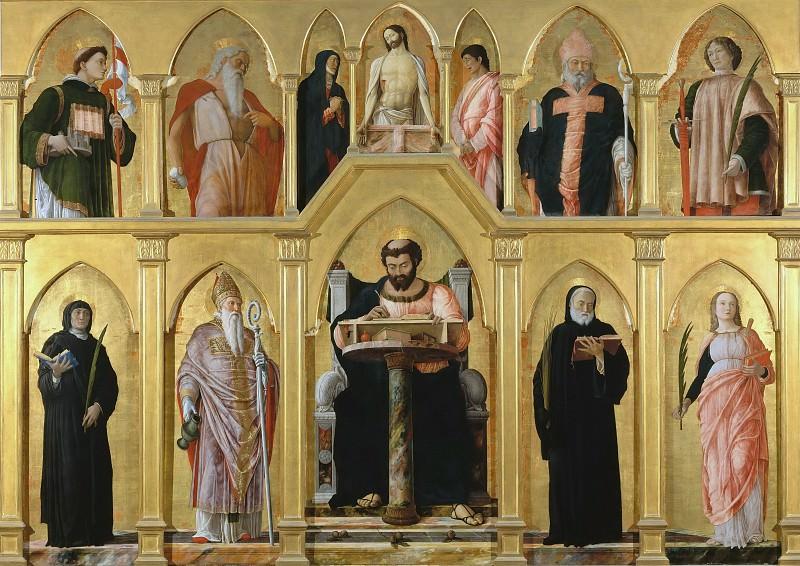 Полиптих святого Луки. Андреа Мантенья
