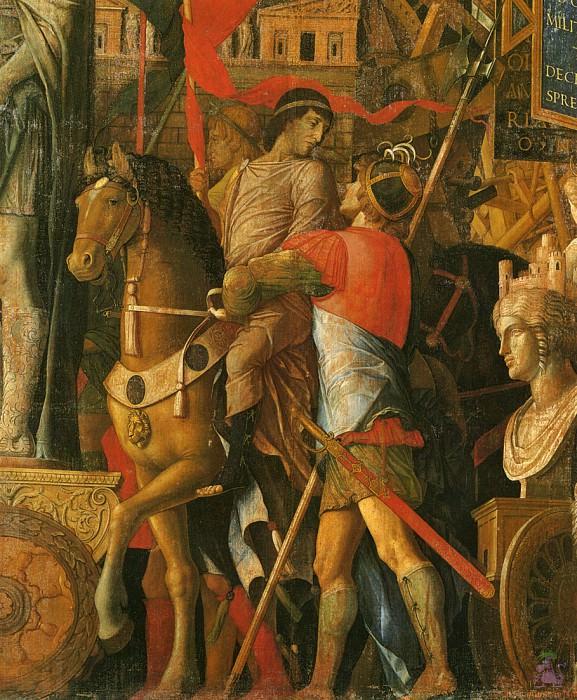 Triumphs of Caeser (scene 2) (1500). Andrea Mantegna