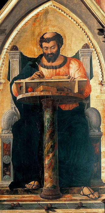 Saint Luke Polyptych (fragment). Andrea Mantegna