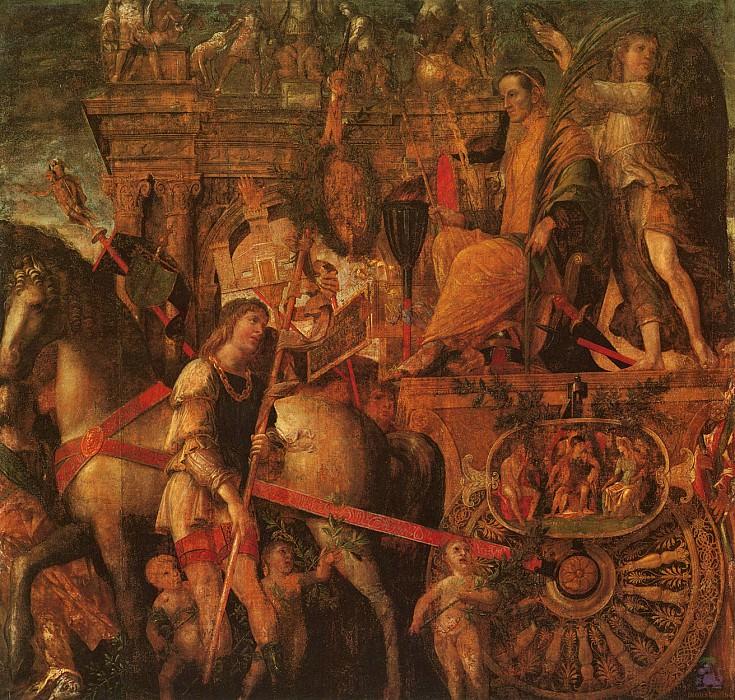 Triumphs of Caeser (scene 9) (1500). Andrea Mantegna